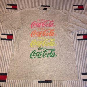 Vintage Coca Cola short sleeve shirt